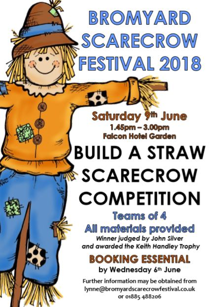 straw scarecrow making leaflet