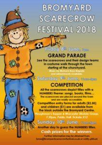 bromyard scarecrow festival leaflet